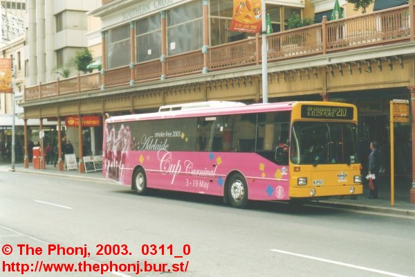 859 in AOA for the Adelaide Cup in King William Street
