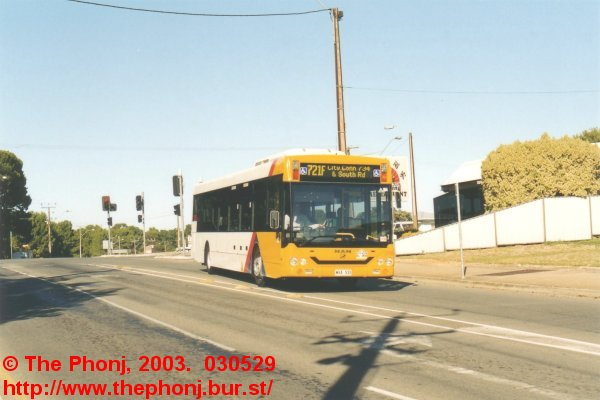 2716 at Old Reynella on 721F to Adelaide