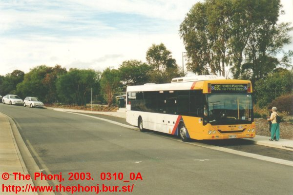 2718 on 681 at Hallett Cove Beach station
