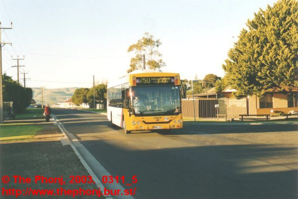 2733 on the 750 route in Aldinga Beach